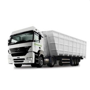 Camión con batea Axor 2035