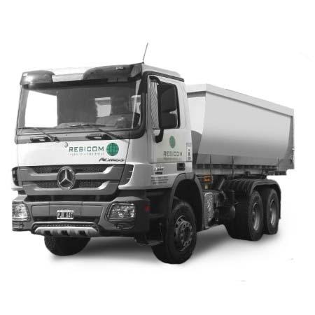 Camión con caja roll off Axor 3341
