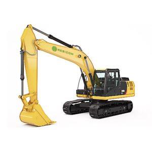 Retro excavadora sobre orugas 320D2l